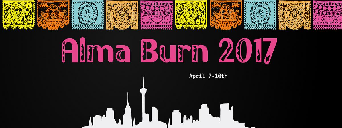 Alma Burn   April 7-10   New Braunfels, Texas